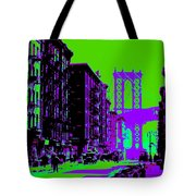 Brooklyn Green Tote Bag