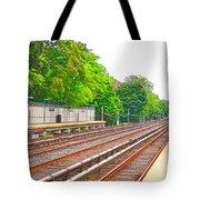 Brooklyn Subway Train Station 1 Tote Bag