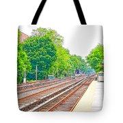Brooklyn Subway Train Station 2 Tote Bag