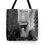 Brooklyn Taxi Tote Bag