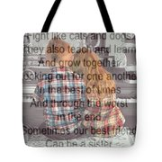Brother Love Tote Bag