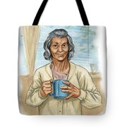 Brother Wolf - Grandmother Issi Tote Bag by Brandy Woods