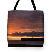 Brough Of Birsay Sunset Tote Bag