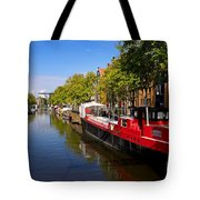 Brouwersgracht Canal In Amsterdam. Netherlands. Europe Tote Bag
