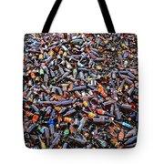 Brown Bottles Tote Bag