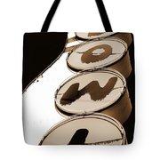Brown Bowl Tote Bag