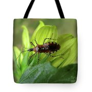 Brown Insect Tote Bag