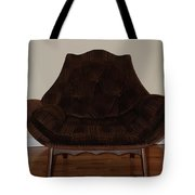 Brown Chair Tote Bag