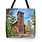 Brown Church Autumn 2 Tote Bag