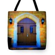 Brown Doors Tote Bag