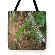 Brown Dragon Tote Bag