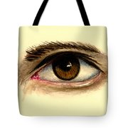 Brown Eye Tote Bag