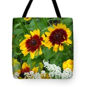Brown Eyed Susans Tote Bag
