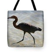 Brown Heron Tote Bag