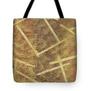 Brown Layers Tote Bag