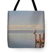 Brown Pelican Five Tote Bag
