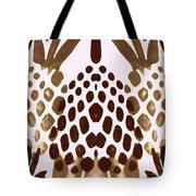 Brown Pineapple Tote Bag