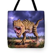 Brown Rex Tote Bag