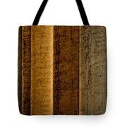Brown Silos Tote Bag