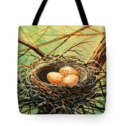 Brown Speckled Eggs Tote Bag