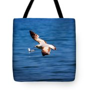Brown Tips Tote Bag