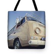 Brown Vw T2 Camper Van Tote Bag