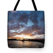 Brown's Island Pano Tote Bag