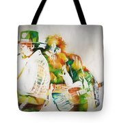 Bruce And The Big Man Tote Bag