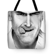 Bruce Campbell Tote Bag