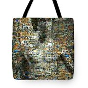 Bruce Lee Mosaic Tote Bag