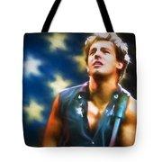 Bruce Springsteen Americana Tote Bag