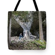 Bruce's Caves Tote Bag