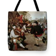Bruegel, Peasant Dance Tote Bag