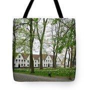 Bruges Begijnhof 1 Tote Bag