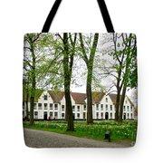 Bruges Begijnhof 2 Tote Bag