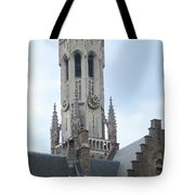 Bruges Belfry 6 Tote Bag