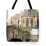 Bruges Bridge 3 Tote Bag