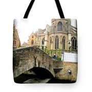 Bruges Bridge 4 Tote Bag