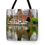 Bruges Kasteel Minnewater Tote Bag