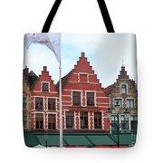 Bruges Markt 6 Tote Bag