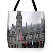 Bruges Markt 9 Tote Bag