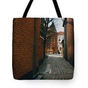 Bruges Orange Street Tote Bag