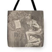 Brujas ? Volar (witches Preparing To Fly) [verso] Tote Bag