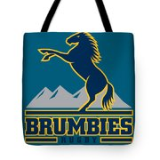 Brumbies Rugby Tote Bag