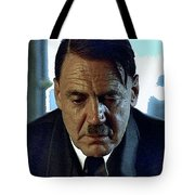 Bruno Ganz As Adolf Hitler Publicity Photo Number Two   Downfall 2004 Color Added 2016 Tote Bag
