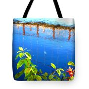 Brunswick Maine Walking Bridge Tote Bag