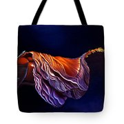 Brused Hibiscus Tote Bag