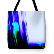 Brush Of Color And Light Tote Bag