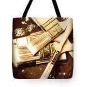 Brushes Of Interior Decoration Tote Bag