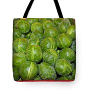 Brussel Sprouts Tote Bag